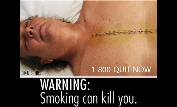 FDA Cigarette Warning Labels