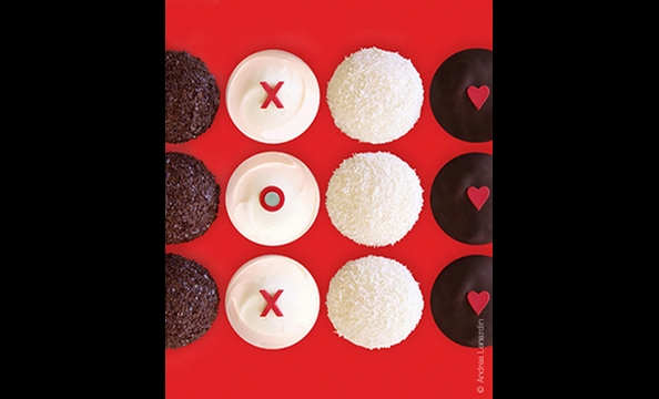 Available February 3 through 14 at Sprinkles Cupcakes (3015 M St., NW; 202-450-1610)