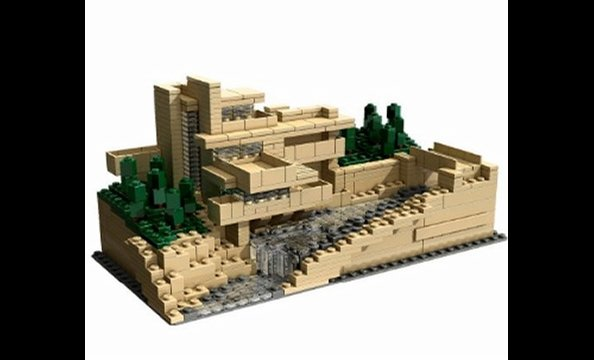 Architecture nerds can brag all they want about recreating Frank Lloyd Wright's iconic Fallingwater house thanks to this crafty Lego set, which includes building instructions, historical material, and photographs of the structure. $100 at momastore.org.