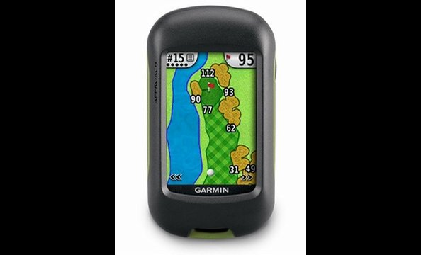 If Dad is seriously committed to upping his green cred, this waterproof, touchscreen electronic device  can measure shot distances, show the yardage between his ball and the hole, and digitally keep track of scores.  Think of it as GPS for the golf course