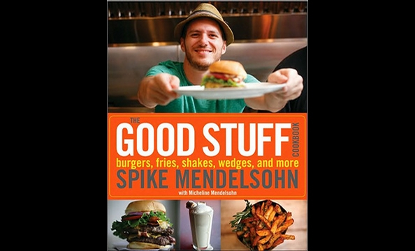 Burgers-and-fries fathers can now get all the goodness of Spike Mendelsohn's Capitol Hill eatery at home thanks to the restaurant's brand new The Good Stuff Cookbook: Burgers, Fries, Shakes, Wedges, and More.  You'll find recipes for everything from Good