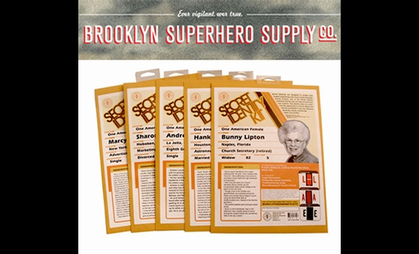 For the father who never tired of playing spies or superheroes when you were growing up, the Brooklyn Superhero Supply Company has lots of crime-fighting merchandise.  Whether it's a geographical index of good and evil, speed of light in a bottle, or a se