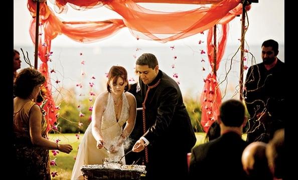 Real Weddings: Lindsay Frost & Samir Bhasin