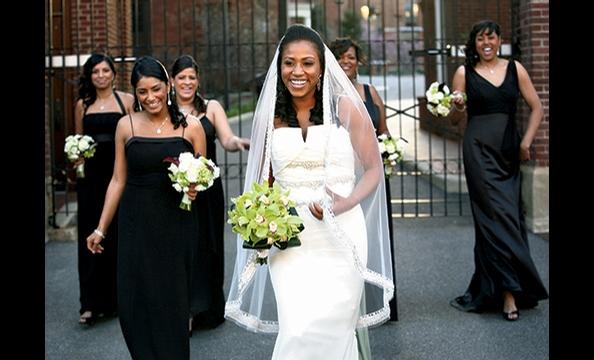 Real Weddings: Arlene Fuller & Taz Lube