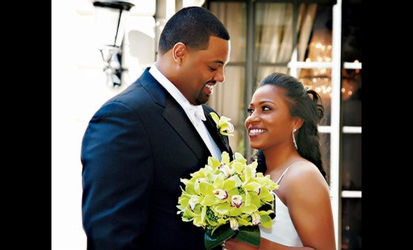 Real Weddings: Arlene Fuller & Taz Wube