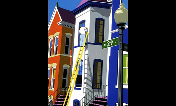 Maryland artist Joseph Craig English captures the vibrancy of Washington—and brings it to directly to your bedroom walls—with his colorful block prints. Joseph Craig English, $60 to $200.