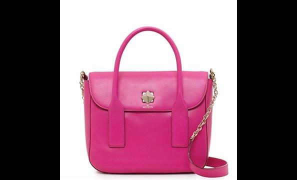 Kate Spade New Bond Street Florence handbag, $448 at Sassanova (1641 Wisconsin Ave., NW; 202-471-4400).