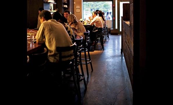 The year's hottest restaurant? Kushi, a Japanese izakaya and sushi spot near DC's Mount Vernon Square.