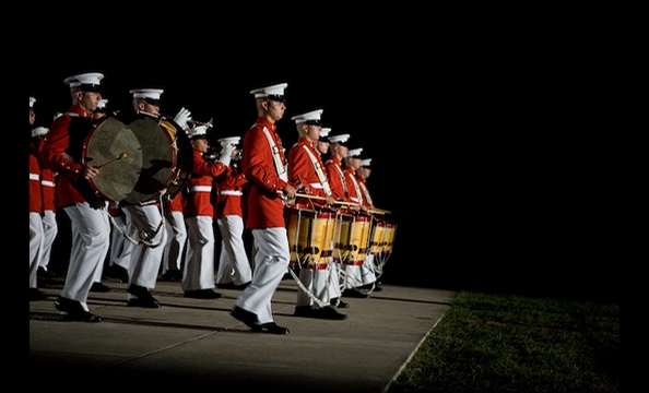 Marine Corps Evening Parades