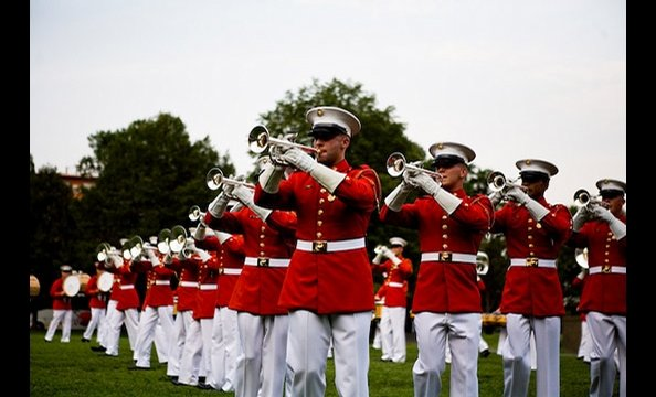 Marine Corps Evening Parade
