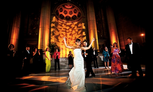 Real Weddings: Melody Barnes & Marland Buckner