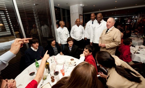 Rocky McIntosh charity dinner at the Palm.