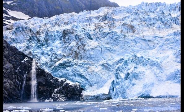 Holgate Glacier in Alaska's Kenai Fjords National Park