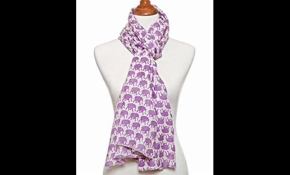 Julie Collection Babar shawl, $160 at Bishop Boutique (815-B King St., Alexandria; 571-312-0042)