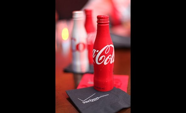 And Coca-Cola helped wash all those food samples down.