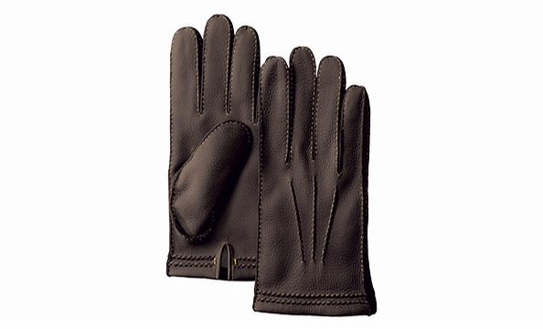 Dad's always there to lend a hand. Treat him to Coach's cashmere-lined deerskin gloves. Coach, $138.