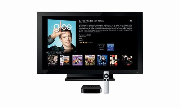 With the new, smaller Apple TV control box, Dad can rent Netflix movies or TV shows instantly as well as stream photos and music from his computer.  Apple, $99.