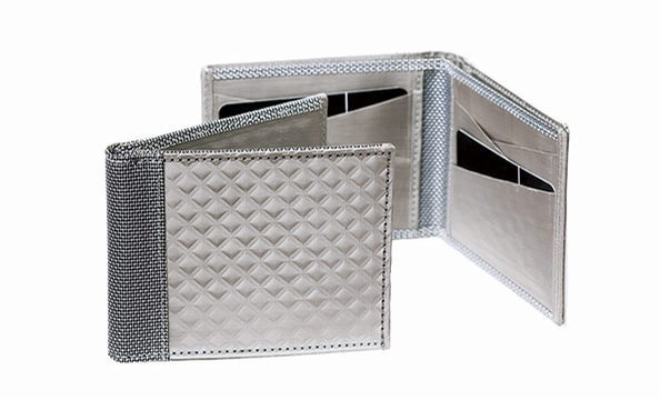 Dad loves any type of technology. Wow him with a supple woven-stainless-steel wallet by Stewart/Stand. M29 Lifestyle, starting at $75.