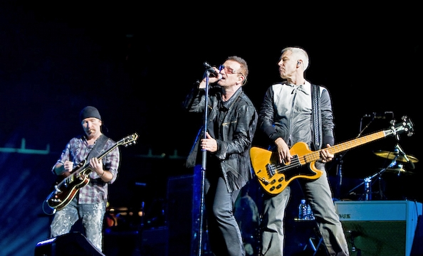 U2 rocked Washington last night with a spectacular concert at FedEx Field. Muse opened. See our photos of the night here.