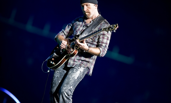 The Edge, bringing back flannel shirts.