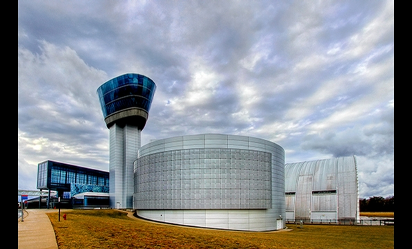 The National Air and Space Museum Udvar-Hazy.