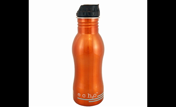 Be good to the environment and your body with an Ech2o Filtered Water Bottle. Available in 18- and 25-ounce sizes, the BPA-free bottles have built-in filters to remove pollutants such as detergents and pesticides from tap water. Ecousable.com, $34.99 to $