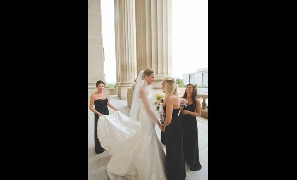 real weddings allison kaminsky amp chris putala washingtonian