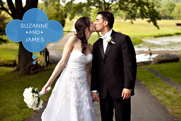 Real Weddings: Suzanne and James