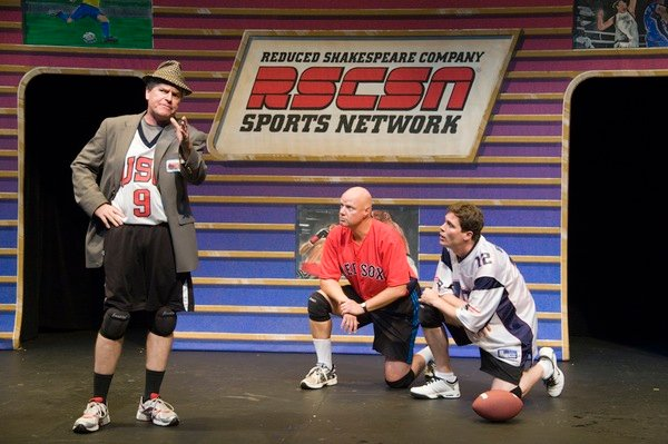 "Theater Review: ""The Complete World of Sports (Abridged)"" at the Kennedy Center"