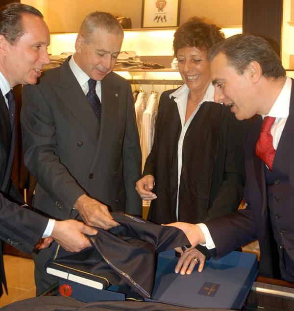 "Welcome, ""Gildo"": Luxury Men's Designer Ermenegildo Zegna Opens a Washington Store"