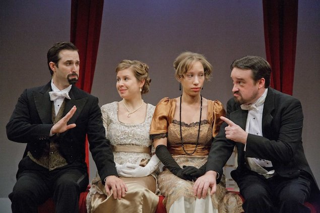 "Theater Review: ""Wives & Wits"" at Washington Stage Guild"