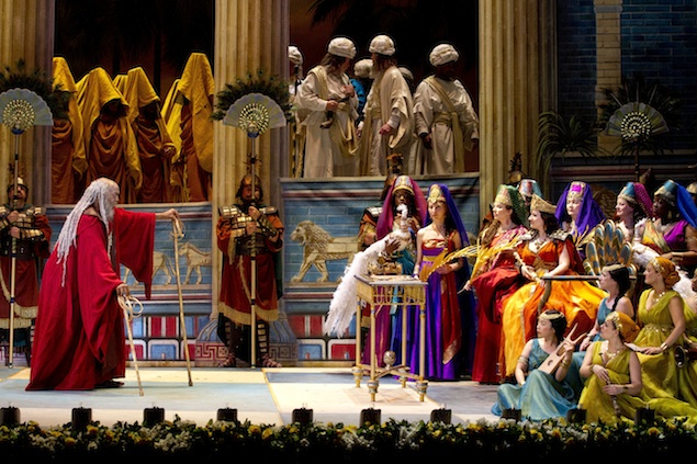 "Opera Review: ""Nabucco"" at the Kennedy Center"