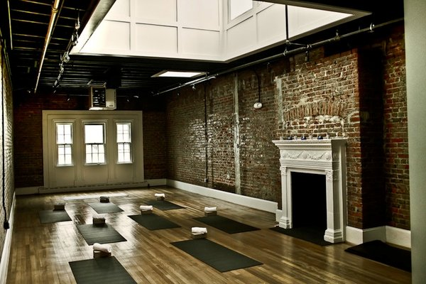 One studio is dedicated to Epic Yoga's hot yoga classes.