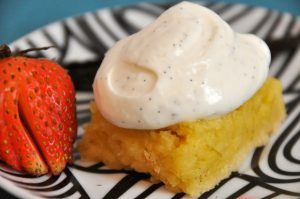 Recipe: Low-Calorie Key Lime Bars With Vanilla-Bean Whipped Cream