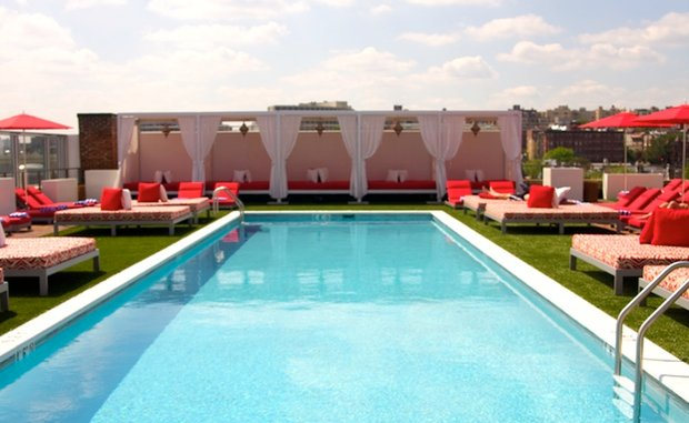A Sneak Peek at Vida Fitness's Penthouse Pool Club (Pictures)