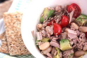 Lunch Recipe: White Bean, Tuna, and Avocado Bowl