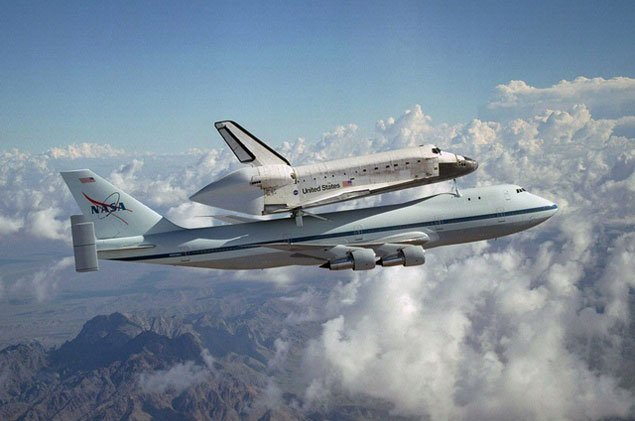 Send Us Your Shuttle Flyover Photos