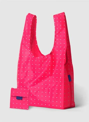 Baggu totes come in multiple sizes and colors—order in bulk so you can coordinate with your outfit.
