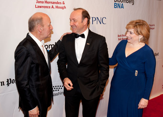 Kevin Spacey and a Host of Local Politicians Attend the Helen Hayes Awards (Photos)