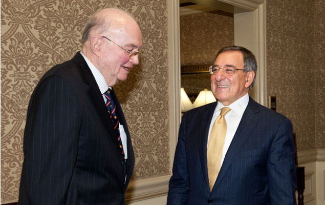 Secretary of Defense Leon Panetta Honored With Dwight D. Eisenhower Award (Pictures)