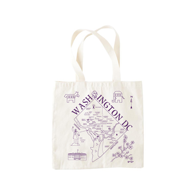 Go an extra step to show your local pride with this city tote.