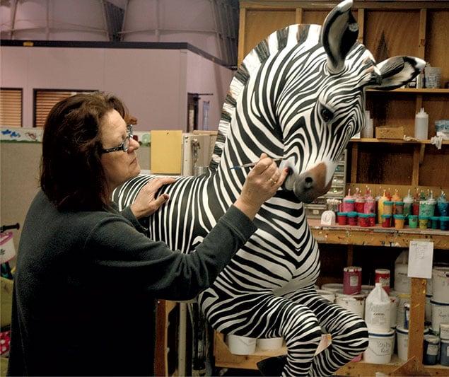 Wanna Ride the Zebra?