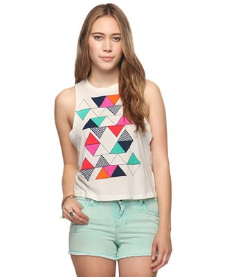 A cute tank just in time for Coachella.