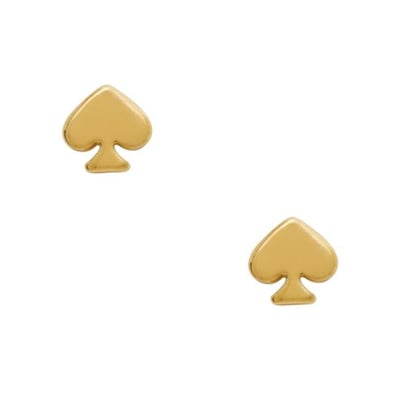 These spades give everyday studs some shape.