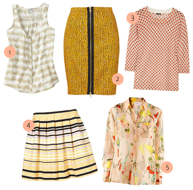Mix and Match: 5 Patterned Pieces to Build Into Your Work Wardrobe