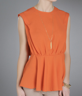Show a little skin with this bright and breezy top.