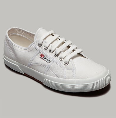 """Because Mrs. O. is nothing if not practical in her style, she should wear a pair of classic white tennis shoes."""
