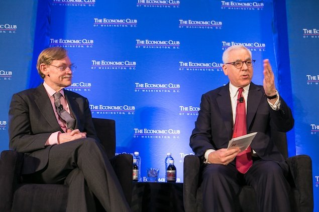 David Rubenstein Does an Exit Interview With Robert Zoellick, the Head of the World Bank