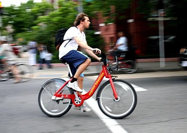 Only 1 in 5 Capital Bikeshare Users Wears a Helmet