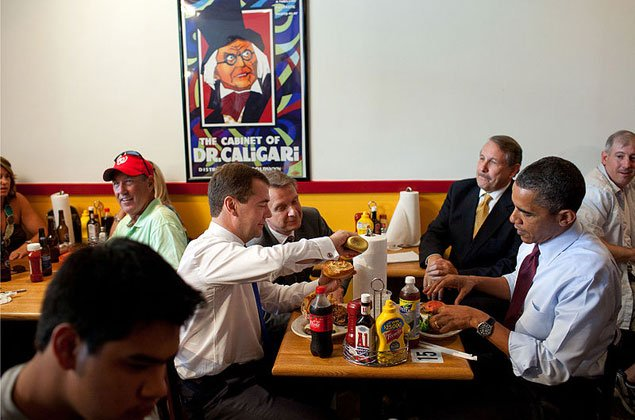 A Burger a Day in May: Burgers President Obama Has Eaten